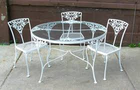 Wrought Iron Patio Furniture Vintage Antique Wrought Iron Patio Furniture Value U2014 Home Design Lover