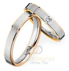 cincin lapis emas cincin kawin claisy perak lapis emas cincin kawin samara