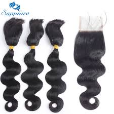 hair braid for a closure sapphire hair products brazilian remy hair with closure brazilian