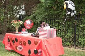 manaliphotography comrupali u0027s cmu themed backyard graduation party