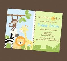 safari baby shower invitations margusriga baby party unique
