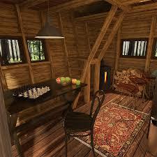 gambrel cabin plans pentagon cabin plans