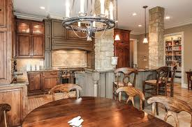 kitchen islands with columns 50 gorgeous kitchen designs with islands designing idea