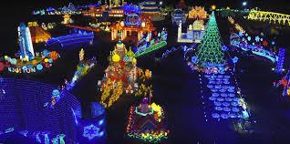 barnsley gardens christmas lights christmas lights and events around georgia the bear of real