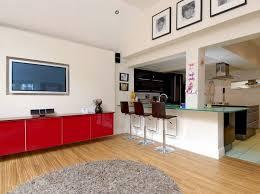 cuisines ouvertes sur salon design interieur cuisine ouverte salon style américain bar