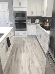 kitchen floor ideas with white cabinets grey wood floor kitchen ideas photos houzz