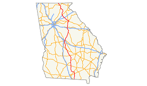 Georgia how far does light travel in one second images U s route 129 in georgia wikipedia png
