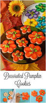 best 20 decorated pumpkin cookies ideas on pinterest pumpkin