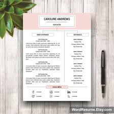 free sle resume in word format 2 resume template cover letter and portfolio for ms word
