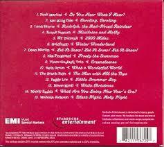 christmas cds various artists ella fitzgerlad nat king cole lena horne frank