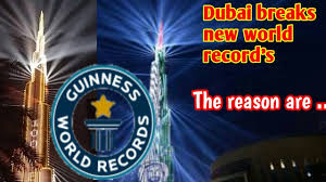 Guinness Flag Watch Burj Khalifa Breaks Guinness World Record Youtube