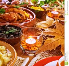 thanksgiving table decoration stock image image 35415271