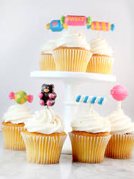 cupcake toppers sweet shapes candy cupcake toppers bakerella