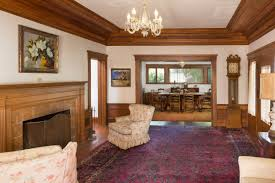 with some tlc this 1912 prairie style craftsman could be divine
