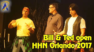 bill u0026 ted open halloween horror nights 2017 at universal orlando
