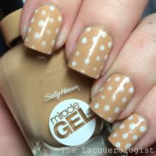 sally hansen miracle gel nail art u0026 review u2022 casual contrast