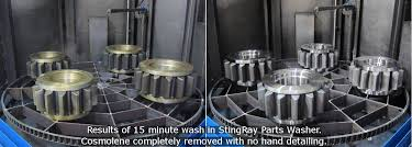 heated parts washer cabinet stingray parts washer wind turbine gearbox cleaning with stingray