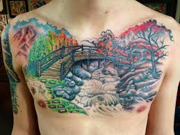 burning bridge by matt sager th u0027ink tank tattoo in denver tattoos