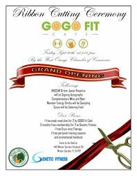 gogo fit cafe grand opening west orange chamber of commerce
