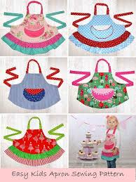 apron sewing pattern childrens aprons apron and apron