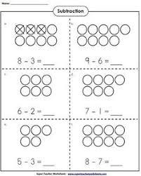 subtraction worksheet freebie çıkarma pinterest subtraction