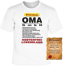spr che f r die oma t shirt firma oma gmbh lustiges sprüche shirt als geschenk für