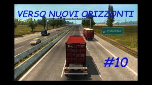 Modena Italy Map by Si Va A Modena Euro Truck Simulator 2 Italy Map Youtube