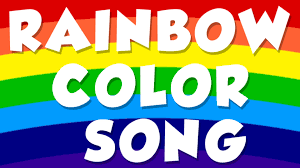 rainbow color song color song for preschool baby youtube