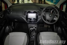 renault captur 2018 interior renault captur ckd now on sale in malaysia same spec cheaper at