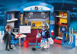 nhl locker room play box 9176 playmobil usa