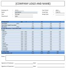 annual leave spreadsheet excel template training free tracking