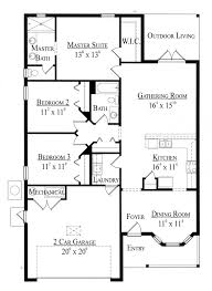 floor plans 1500 sq ft house plan 74275 at familyhomeplans com