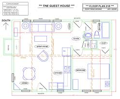 house plan with guest house floor plan plan feet building car garage plans bweb modern floor