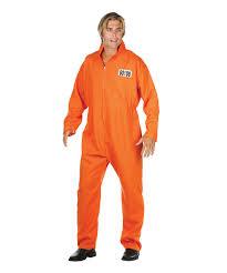 prison jumpsuit costume this orange culprit costume by rg costumes is