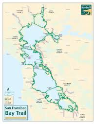 Zip Code Map San Francisco by San Francisco Bay Trail Map Michigan Map