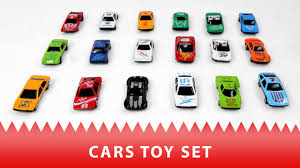 small car toys for children police car race car and ambulance