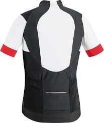 bike wear gore bike wear alp x pro windstopper soft shell zip off jersey