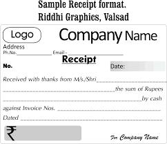 payment receipt template microsoft word template