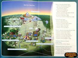 Disney Hollywood Studios Map 2011 Walt Disney World Vacation Brochure Let The Memories Begin