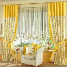 Curtains For Yellow Living Room Decor Bright Yellow Curtains Interior Design Pinterest Modern
