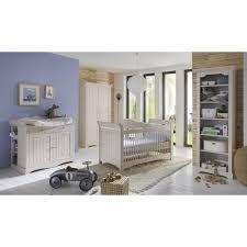 babybett und wickelkommode set babyzimmer freja 3tlg set komplett kiefer massiv white wash