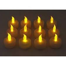 led pumpkin tea lights 12pcs led tea light candles householed velas led battery powered