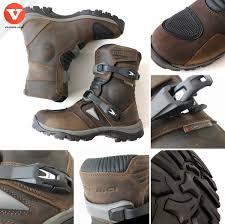 adventure motorcycle boots forma adventure low mens brown enduro boots via moda