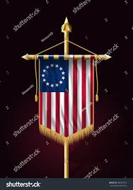 Betsy Ross Flags American Betsy Ross Flag Festive Vertical Stock Vector 560367076