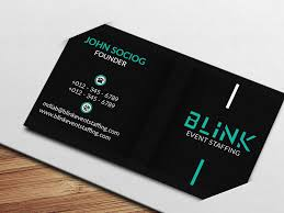 Maps For Business Cards Entry 51 By Dotrana For Business Card For An Event Staffing