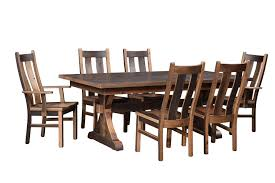 amish reclaimed barnwood bristol dining chair