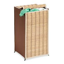 Pretty Laundry Hampers by Amazon Com Honey Can Do Hmp 01619 Tall Wicker Weave Hamper