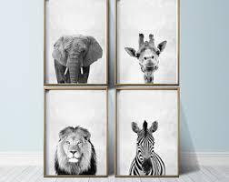 Jungle Curtains For Nursery Safari Nursery Etsy