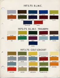 bmc bl paint codes and colors how to library the austin healey