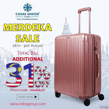 United Luggage by Cosas United Merdeka Sale Travel U0026 Hotel Luggage